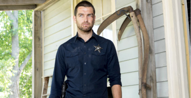 Anthony Starr in Banshee Season 2 Episode 1 Cinemax Series Banshee Renewed for Season 3
