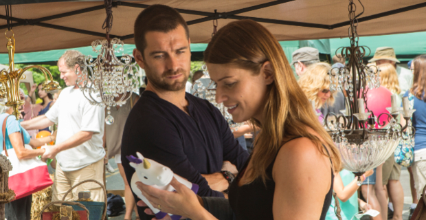 Antony Starr and Ivana Milicevic in Banshee season 2 episode 5 Banshee Takes a Detour Into What Could Have Been