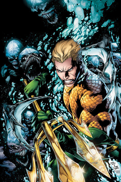 Aquaman 1 Cover Aquaman #1 Cover