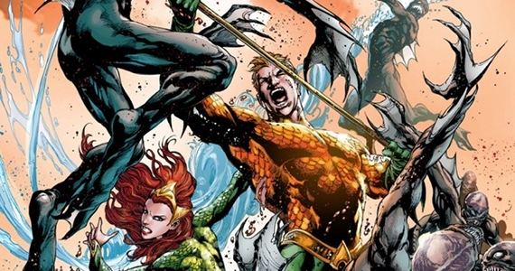Aquaman Movie Details DCs Geoff Johns Talks Aquaman; Drops Movie Hints