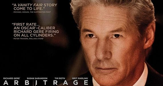 Arbitrage 2012 Movie Poster Screen Rants 2012 Fall Movie Preview