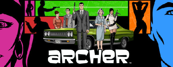 Archer S1 900x350 Archer Mercilessly Spoofs the Spy Genre