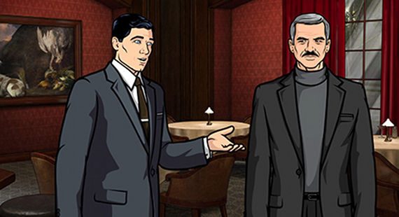 Archer meets Burt Reynolds Burt Reynolds to Guest Star on Archer