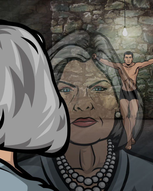 Archer 02 Archer Mercilessly Spoofs the Spy Genre