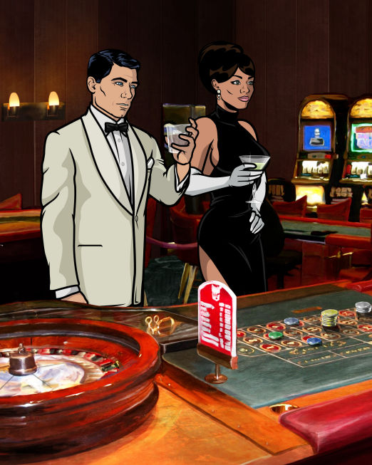 Archer 051 Archer Mercilessly Spoofs the Spy Genre