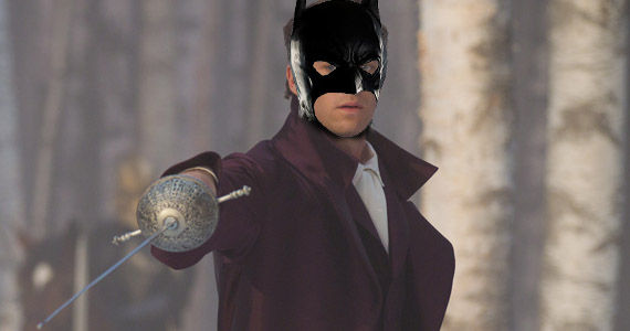 Armie Hammer Batman Mask Rumor Patrol: Armie Hammer Could Play Batman in Justice League