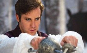 Armie Hammer as Prince Andrew in Snow White 280x170 Snow White Images Tease A Stylized Fairy Tale Re Imagining