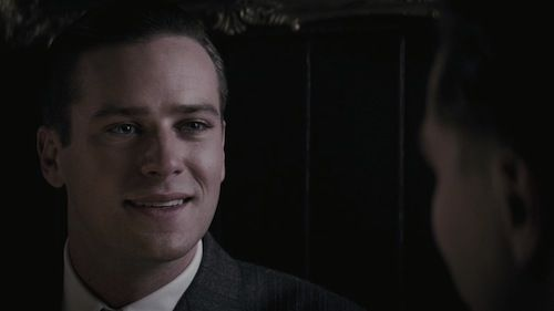 Armie Hammer in J Edgar J. Edgar Review