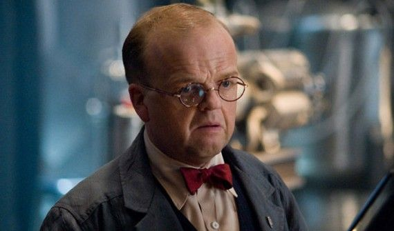 Arnim Zola 570x335 Captain America 2: Will We See Falcons Pet & Toby Jones Arnim Zola?