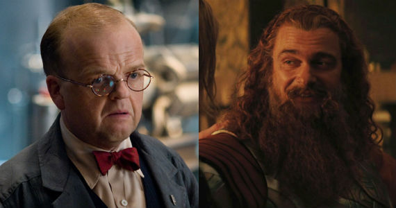 Arnim Zola Volstagg Captain America 2 & Thor 2 Interviews: Arnim Zolas Return, War In Asgard & More