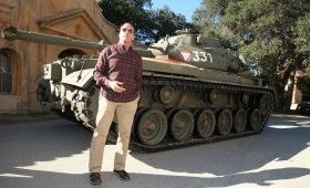 Arnold Schwarzenegger Tank Ride Interview 280x170 The Last Stand Interview: Arnold Schwarzenegger Takes Us on a Tank Ride