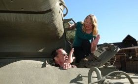 Arnold Schwarzenegger Tank Ride Interview Amy Arnold 280x170 The Last Stand Interview: Arnold Schwarzenegger Takes Us on a Tank Ride