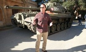 Arnold Schwarzenegger Tank Ride Interview The Last Stand 280x170 The Last Stand Interview: Arnold Schwarzenegger Takes Us on a Tank Ride