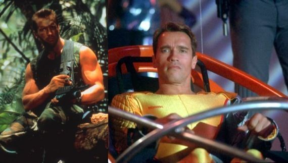 Arnold Schwarzenegger in Predator or The Running Man remake Schwarzenegger Eying Terminator 5, Comic Book Movie & More
