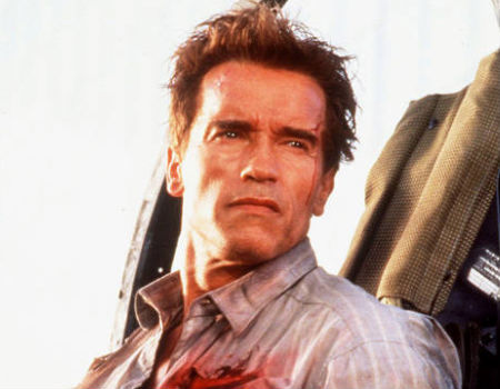 Arnold Schwarzenegger in True Lies