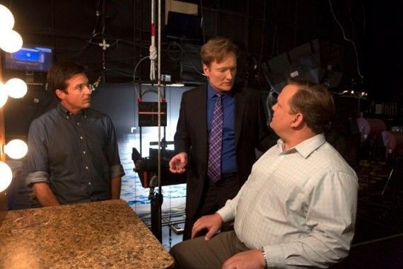 Arrested Development Season 4 Image with Conan OBrien and Andy Richter 570x380 Arrested Development Season 4 Image with Conan OBrien and Andy Richter