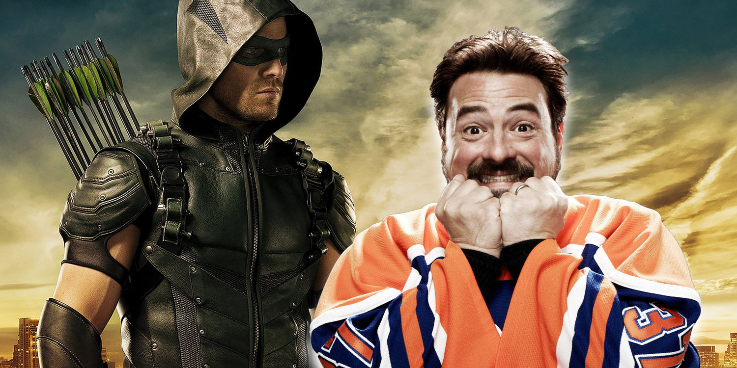 Arrow Stephen Amell Kevin Smith