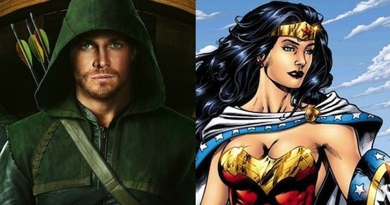 Arrow Producers Talk Wonder Woman Crossover Arrow Producers Talk Crossover Potential With Wonder Woman Series Amazon