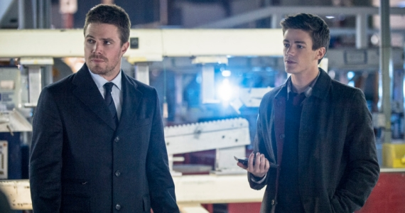 Arrow Stephen Amell with Grant Gustin Most Anticipated New TV Shows of 2014: Flash, Gotham, Girl Meets World & More