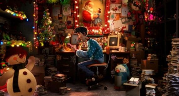 Arthur Christmas Interview: Bill Nighy on Arthur Christmas & Reindeer Vs. Spaceships