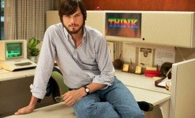 Ashton Kutcher in Steve Jobs Biopic 280x170 First Look at Ashton Kutcher as Steve Jobs in jOBS