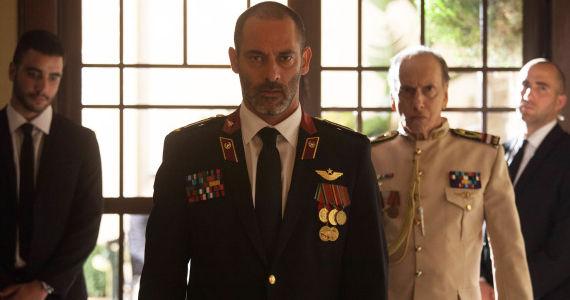 Asrah Barhom and Raad Rawi in Tyrant Season 1 Episode 5 Tyrant Plays a Dangerous Game