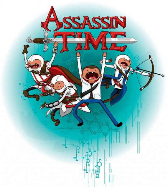 Assassin Time 570x637 Assassin Time