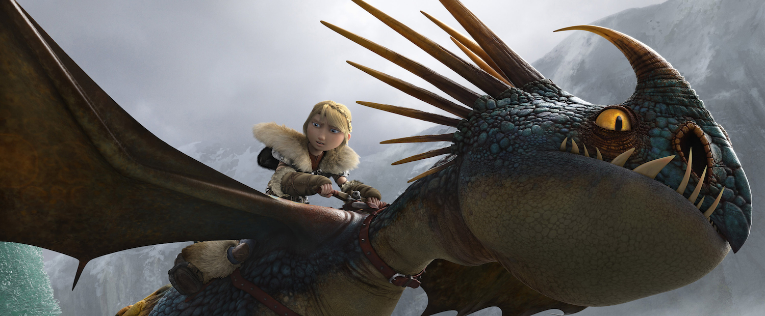 the first how to train your dragon