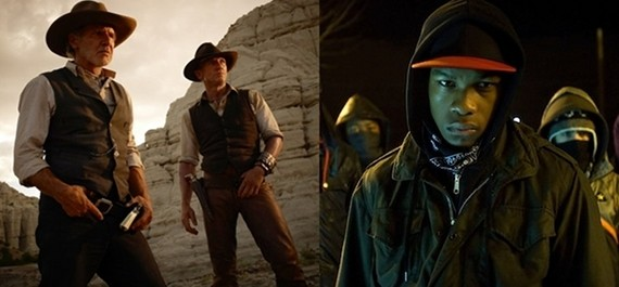 Cowboys & Aliens vs. Attack the Block: Invasion Movie Showdown