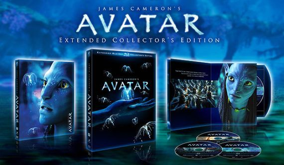 Avatar Extended Collectors Edition artwork James Cameron Talks Avatar Sequels, Cleopatra And More [UPDATED]