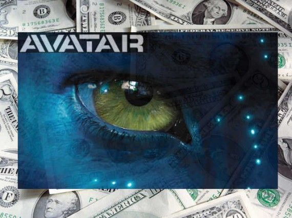 Avatar logo money piles 570x427 Avatar Breaks Opening Day Blu Ray Sales Record