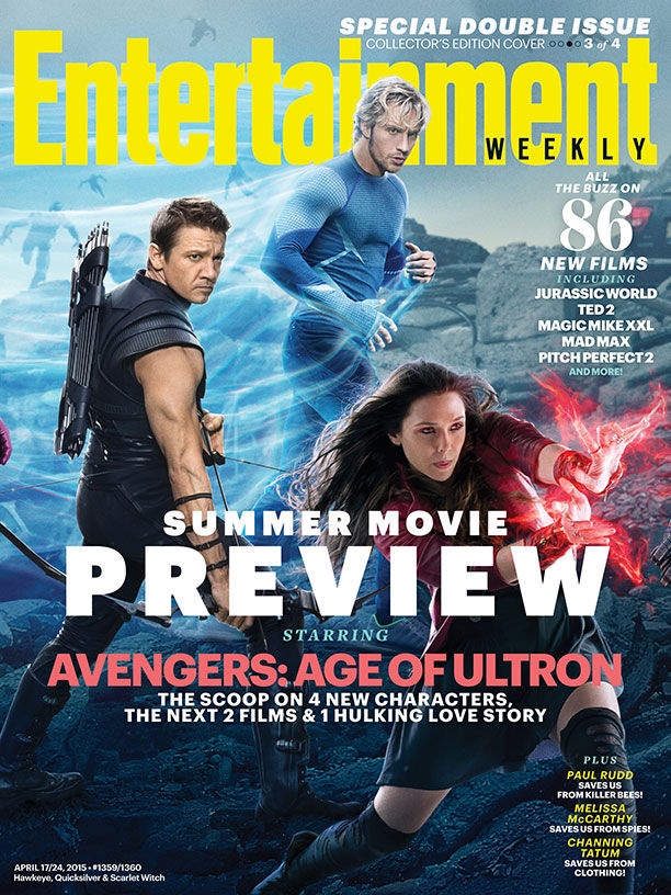 Age of ultron ew cover hawkeye scarlet witch quicksilver