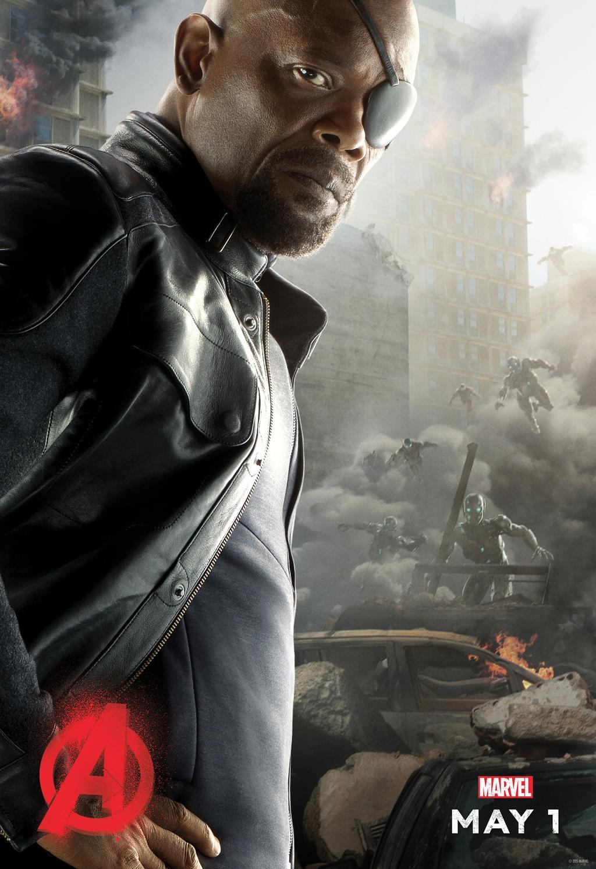 Avengers 2: Black Widow, Nick Fury & Thor Get Character ...