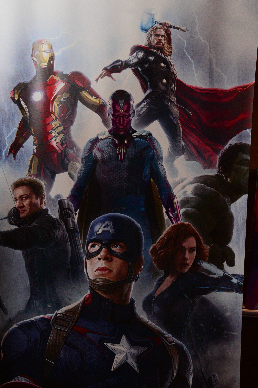 Avengers 2 Age of Ultron Promo Art