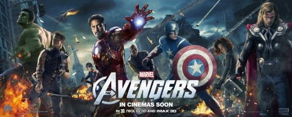 Avengers Character Poster Banner 570x228 Avengers Interviews: Superhero Politics, Smart Hulk & Marvel Movie Future