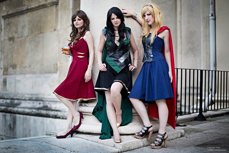 Avengers Dresses SR Geek Picks: Sweded Iron Man 3 Trailer, Community + The Dark Knight Rises, Twilight Outtakes & More!