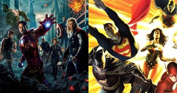 Avengers Justice League Solo Films Justice League Will Compete With The Avengers 2 in Summer 2015
