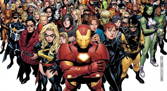Marvel NOW! to Relaunch Marvel Comics Universe; X Men & Avengers to Merge