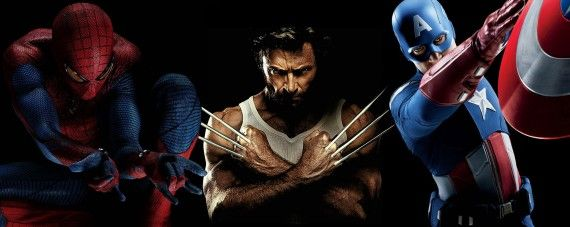 Avengers Spider Man X Men Movie Crossover 570x227 Hugh Jackman Wants To Share The Screen With Iron Man & The Avengers