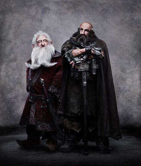 Balin and Dwalin in The Hobbit More Hobbit Dwarf Images: Balin & Dwalin