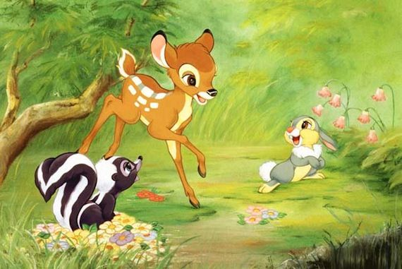 Bambi interview Blu ray release The Legacy of Bambi & The Future of Animated Films
