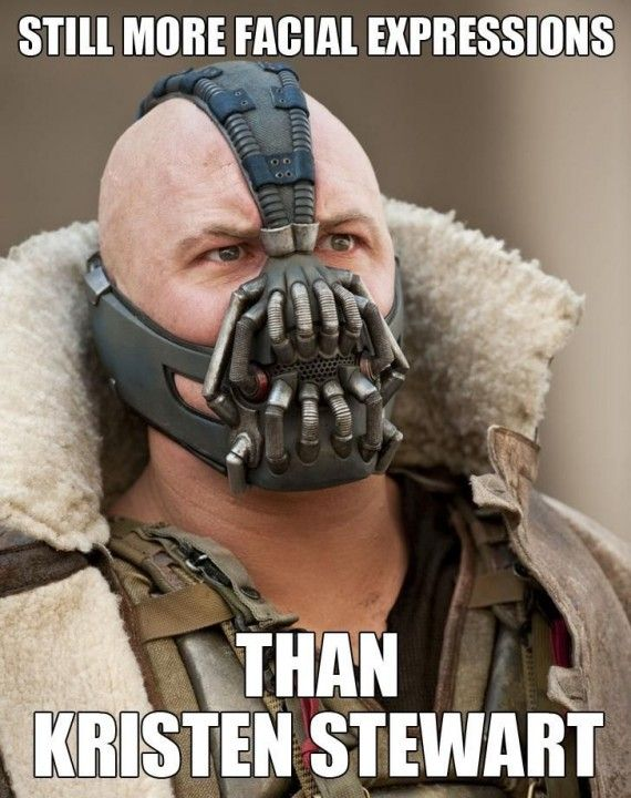 Bane Kristen Stewart 570x720 SR Geek Picks: Sesame Street Batman, Breaking Bad Print, Bane Memes & More!
