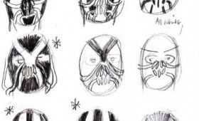 Bane Mask Dark Knight Rises Concept Artwork 280x170 Joker in The Dark Knight Rises; Bane Mask Concept Artwork Revealed