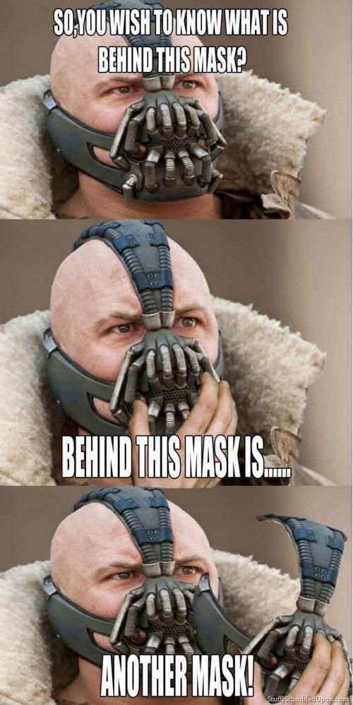 Bane Mask SR Geek Picks: Breaking Bad Spoofs, Zombie Disney Princesses, How The World Ends   Hollywood Style & More