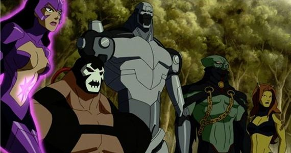 Bane Metallo Star Sapphire in Justice League Doom Justice League: Doom Review
