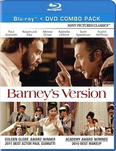 Barneys Version DVD Blu ray DVD/Blu ray Breakdown: June 28, 2011