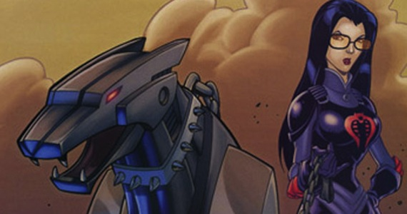 Baroness and Ravage Transformers GI Joe G.I. Joe 2 Producer Says Transformers Crossover Movie is a Possibility