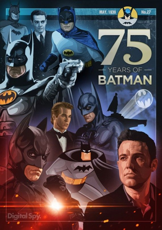 Batman 75th anniversary The men behind the mask 570x806 SR Geek Picks: Most Quotable Movies, Game of Thrones 80s/90s Version & More