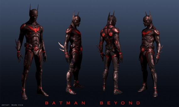 Batman Beyond Movie Armor Concept Art Fan Made 570x343 Batman Beyond Movie Armor Concept Art (Fan Made)