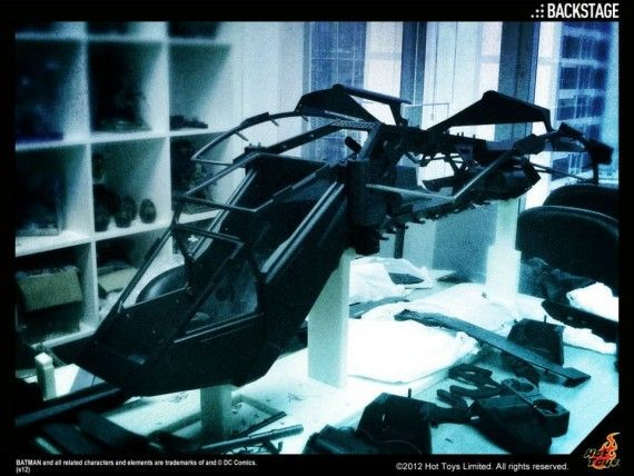 Batman Dark Knight Rises The Bat Model 570x428 The Dark Knight Rises   The Bat Model
